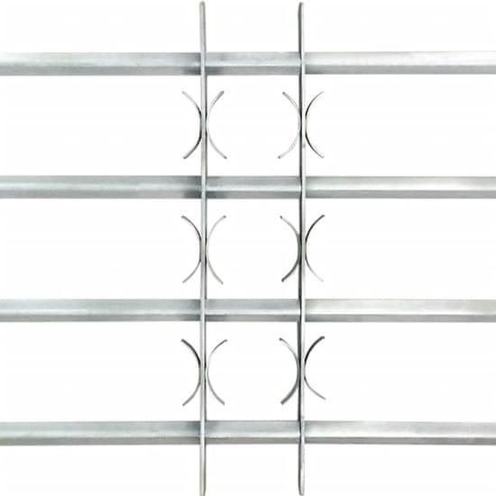 shumee Nastavljiva okenska rešetka s 4 prečkami 500-650 mm