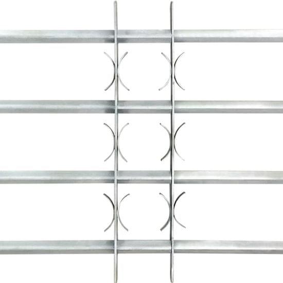 shumee Nastavljiva okenska rešetka s 4 prečkami 1000-1500 mm