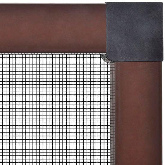 shumee Brązowa moskitiera przeciw insektom 130 x 150 cm