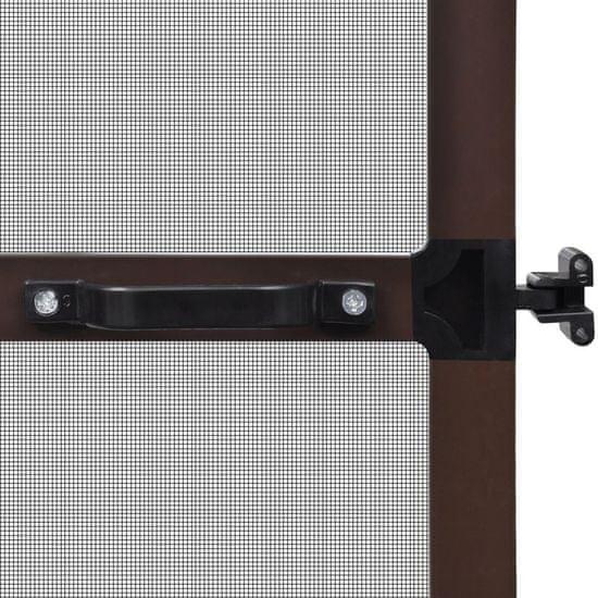 shumee Moskitiera na drzwi, brązowa, 120 x 240 cm