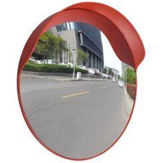 Dopravní vypouklé zrcadlo PC plast oranžové 60 cm venkovní
