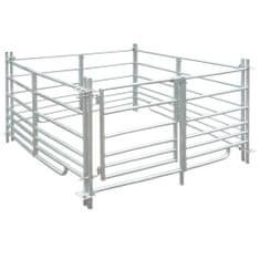 shumee Ohrada pro ovce 137 x 137 x 92 cm, 4 panely z pozinkované oceli
