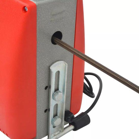 shumee Naprava za čiščenje cevi 250 W 15mx16mm 4,5mx9,5mm