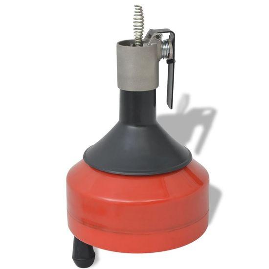 shumee Przyrząd do czyszczenia rur, manualny/napędzany, 8 m