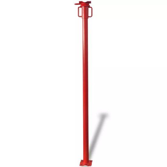 shumee Stavebná stojka, červená 280 cm