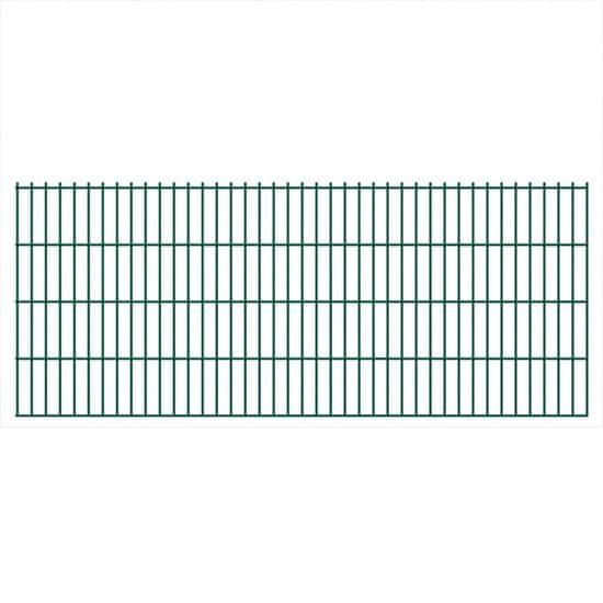 shumee 2D Zahradní plotové dílce 2,008 x 0,83 m 10 m (celková délka)