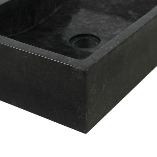 shumee fekete márvány mosdókagyló 45 x 30 x 12 cm