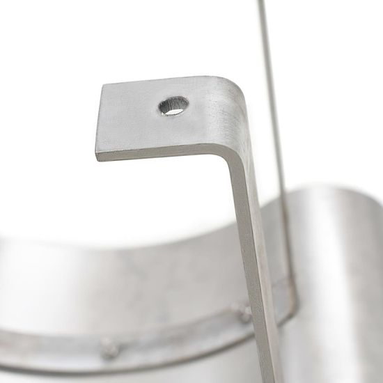 shumee Komínová stříška nerezová ocel stříbrná