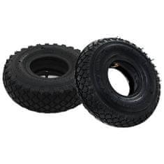 shumee 2 pnevmatiki in 2 zračnici 3.00-4 260x85 za kolo vozička guma