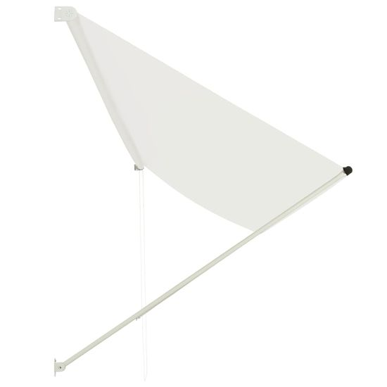shumee Zložljiva tenda 400x150 cm krem