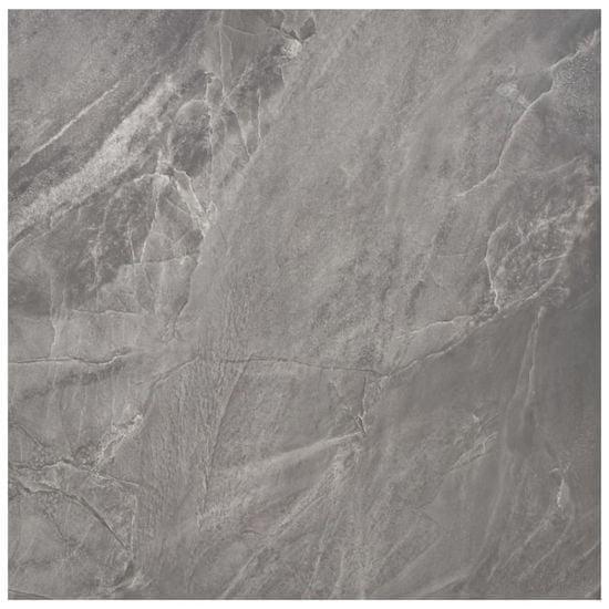 shumee Samoprzylepne panele podłogowe z PVC, 5,11 m², czarne ze wzorem