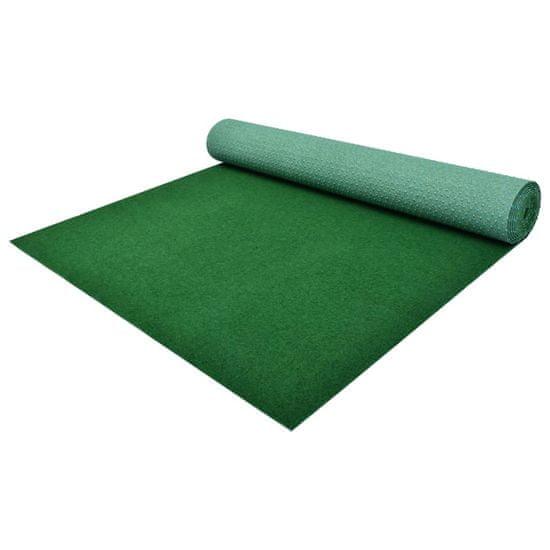 shumee zöld szegecses aljú PP műfű 10 x 1,33 m