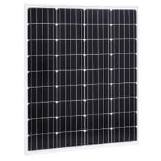 shumee Solárny panel hliník a bezpečnostné sklo 80 W monokryštalický