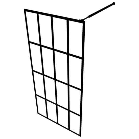 shumee edzett üveg zuhanyfal 100 x 195 cm