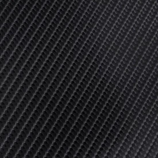 shumee Folia za avto karbonska vlakna vinil 4D črna 152 x 500 cm