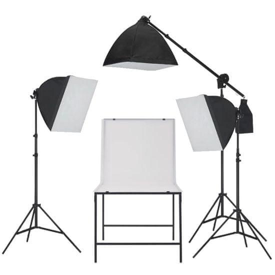 shumee Oświetleniowy zestaw softbox do studia ze stołem do fotografii
