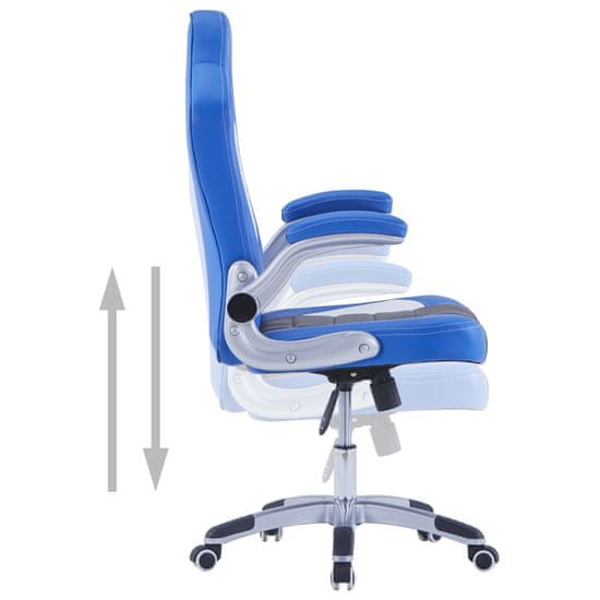 shumee kék műbőr gamer szék
