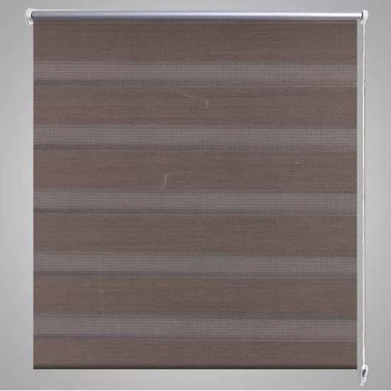shumee Roleta kawa w jasne pasy (90 x 150 cm)