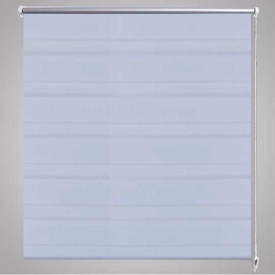 shumee Roleta w pasy (70 x 120 cm), biała
