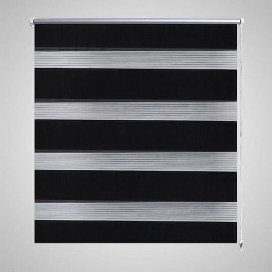shumee Roleta Zebra 80 x 150 cm Czarna