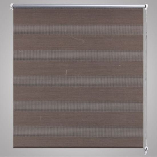 shumee Roleta w pasy (80 x 175 cm) kawa