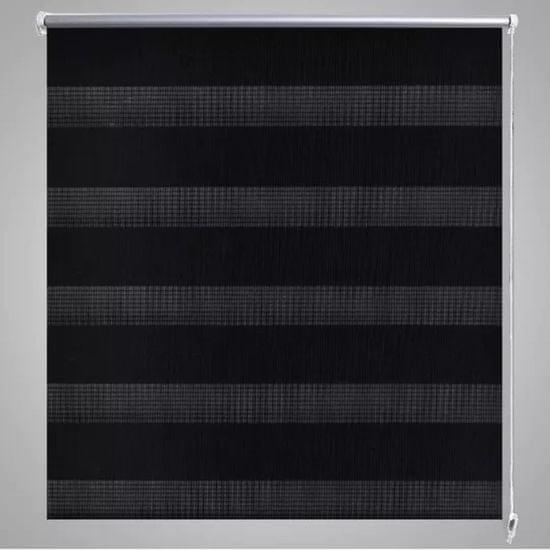shumee Roleta Zebra 120 x 230 cm czarna