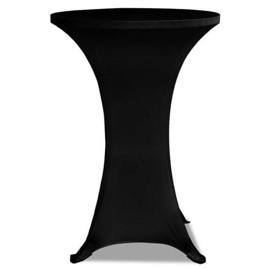 shumee Raztegljivo Pregrinjalo za Visoke Barske Mize Ø70 2 Kosa Črne Barve