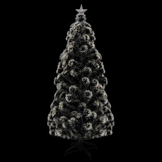 shumee Umetna novoletna jelka s stojalom/LED 180 cm 220 vejic
