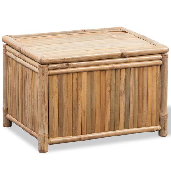 shumee 3 bambusowe skrzynie