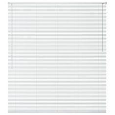 Okenní žaluzie hliník 160x160 cm bílá