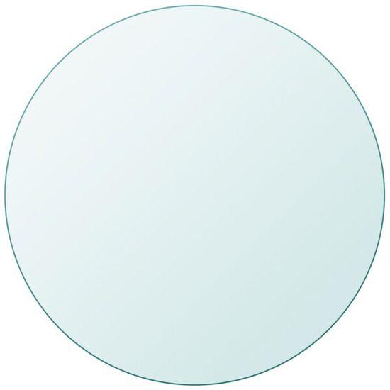 shumee Blat stołu, szklany, okrągły, 600 mm