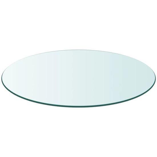 shumee edzett üveg asztallap kerek 900 mm