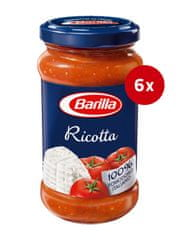 Barilla Ricotta paradižnikova omaka s sirom, 6 x 400 g