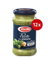 Barilla Genovese pesto omaka, 12 x 190 g