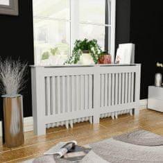 shumee Kryt na radiátor bílý MDF 172 cm