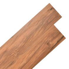 shumee Samolepící podlahová krytina PVC 5,02 m² 2 mm přírodní jilm