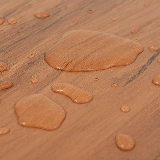 shumee Samolepilne PVC talne plošče 5,02 m² 2 mm barva brestovine
