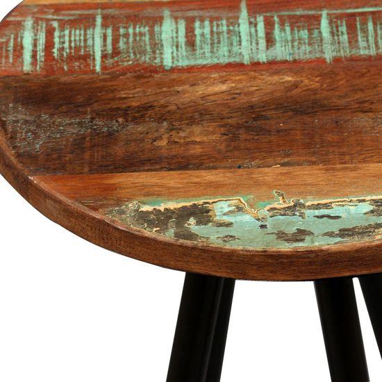 shumee Barski stolčki 2 kosa trden predelan les