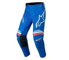 Alpinestars kalhoty Youth Racer Braap blue off/white vel. 24
