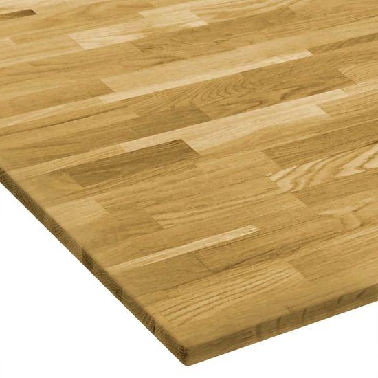 shumee négyzet alakú tömör tölgyfa asztallap 23 mm 80 x 80 cm