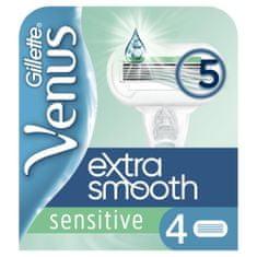 Gillette Venus Sensitive Extra Smooth Náhradná Holiaca Hlavica 4x