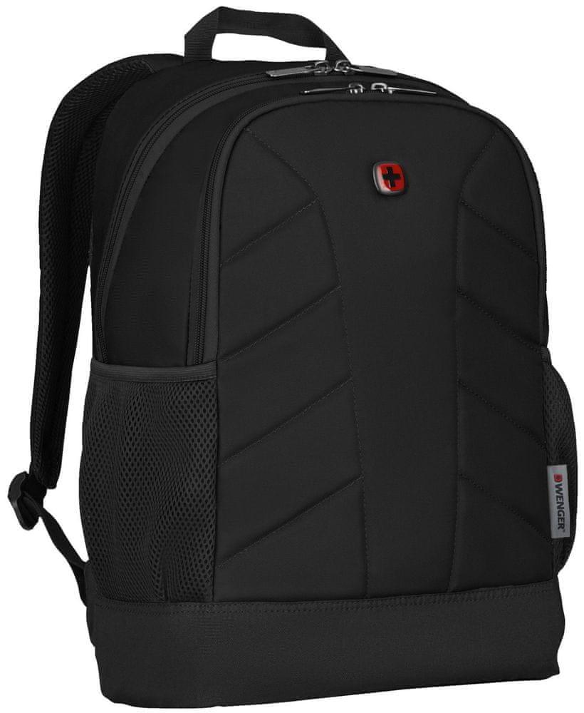 Wenger QUADMA - 16″ batoh na notebook 610202, černý