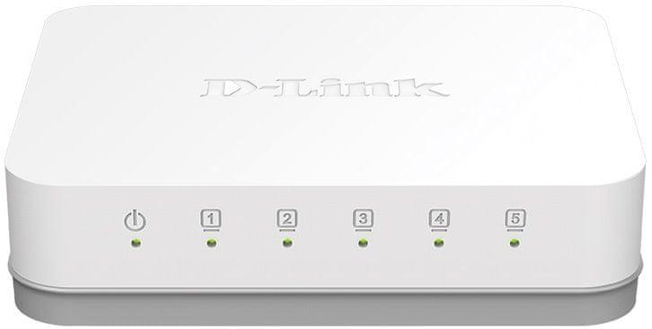 D-Link 5-Port Gigabit Ethernet Switch GO-SW-5G