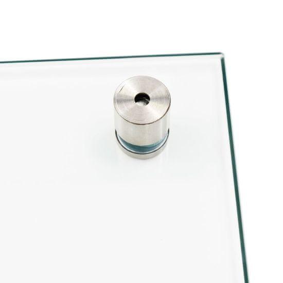 shumee Kuchyňský panel průhledný 90 x 50 cm tvrzené sklo