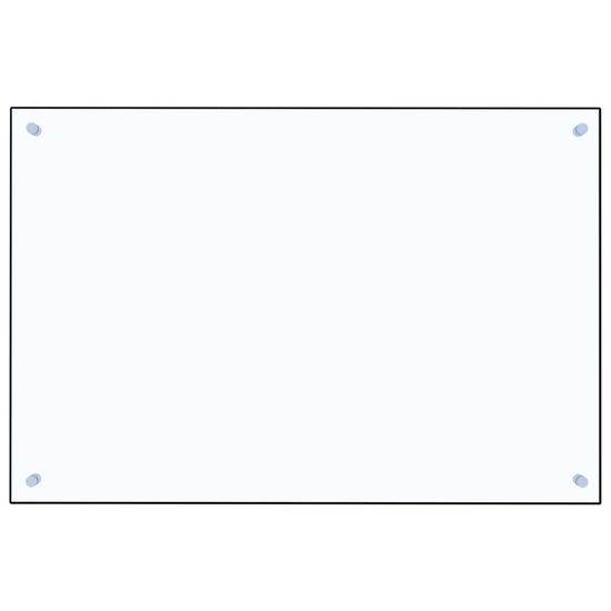 shumee Kuchyňský panel průhledný 90 x 60 cm tvrzené sklo
