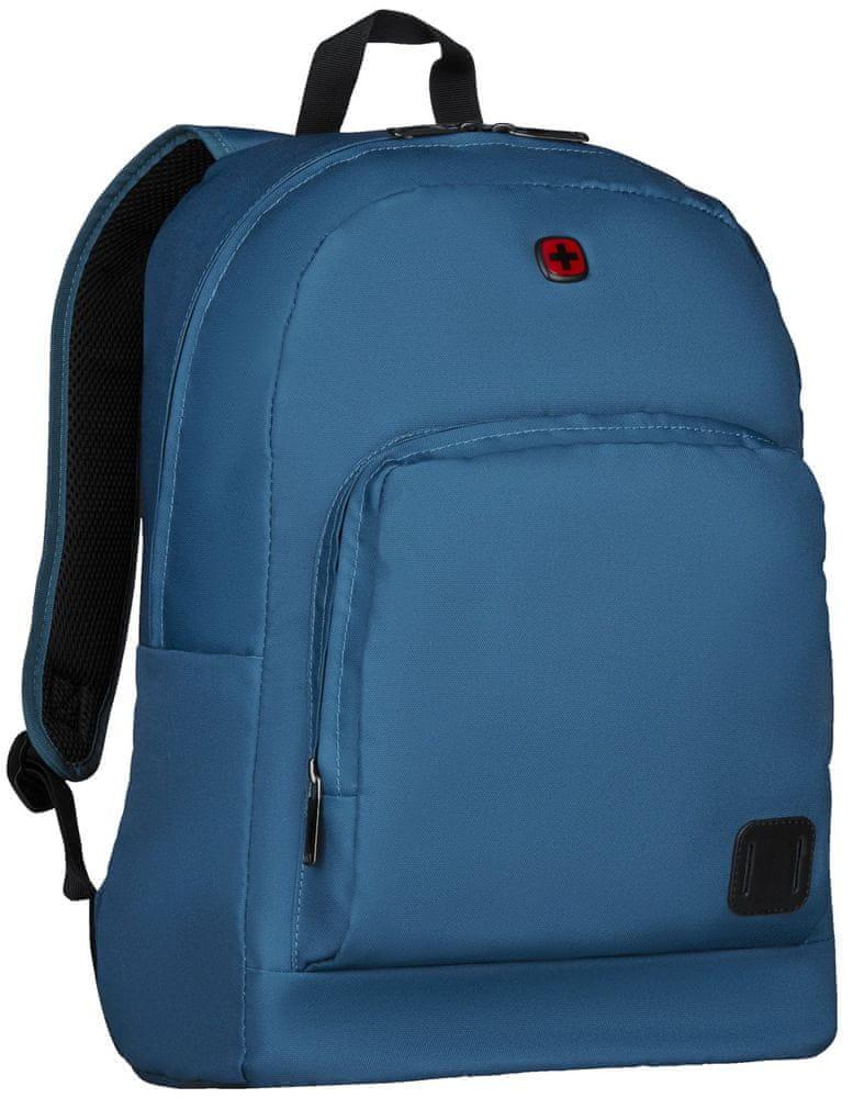 Wenger CRANGO - 16″ batoh na notebook 610199, modrý