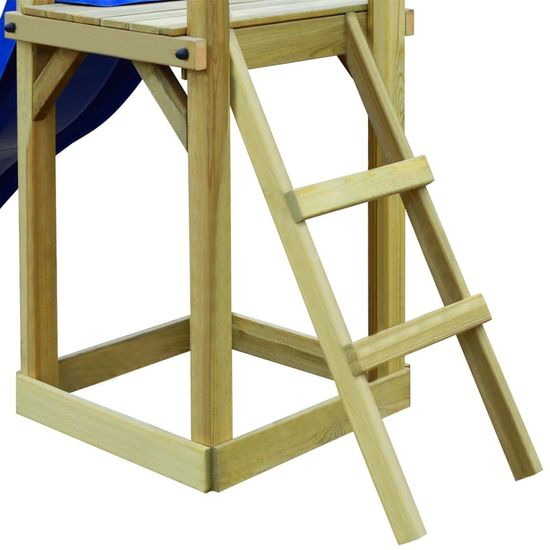 shumee Ihrisko+šmýkačka, rebrík 237x60x175 cm, borovica