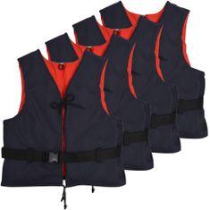 shumee Plovni pripomočki 4 kosi 50 N 50-70 kg mornarsko modri