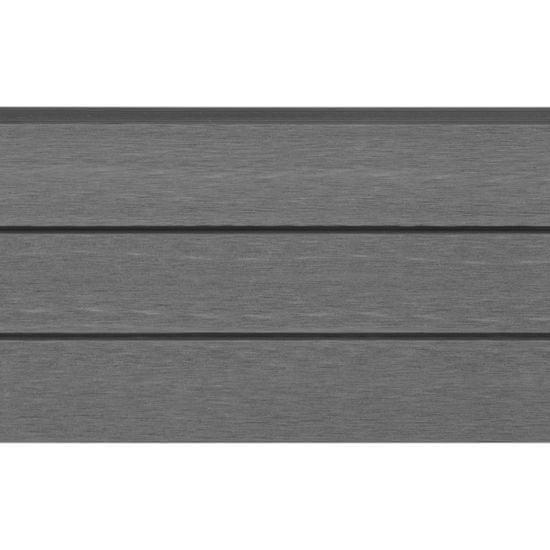 shumee Zamienne deski ogrodzeniowe z WPC, 9 szt., 170 cm, szare