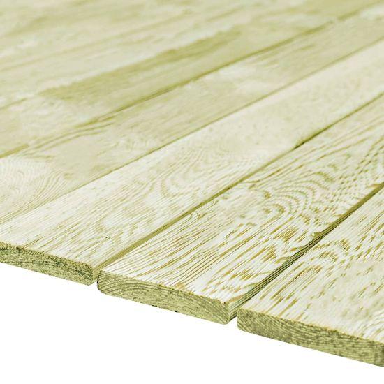 shumee Talne plošče 90 kosov 150x12 cm lesene